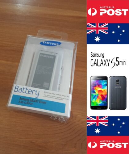 Samsung S5 mini Battery Genuine Retail EB-BG800BBE  with NFC - Local Seller !