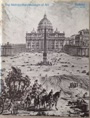 The Metropolitan Museum of Art Bulletin Winter 1982 THE BUILDING OF THE VATICAN