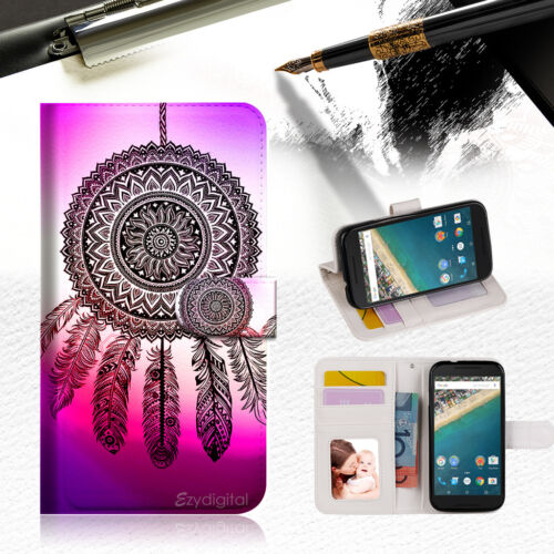 Dream Catcher Wallet Case Cover For Alcatel Pop Star -- A027