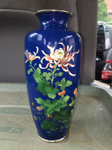 "Early 8 5/8"" Japanese Cloisonné Vase"