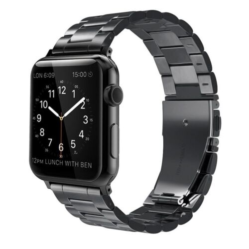 For Apple Watch Series1/2/3 (42mm) Metal Replacement Strap Bracelet Wrist Bands