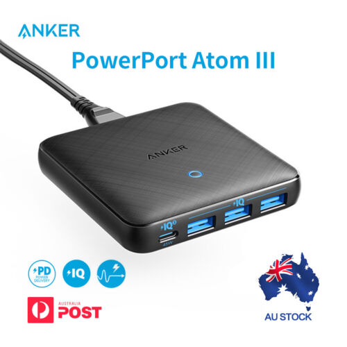 Anker Powerport Speed 5-2x Quick charge 3.0 Ports 63W PowerIQ USB Wall Charger <br/> Support Quick Charge 3.0
