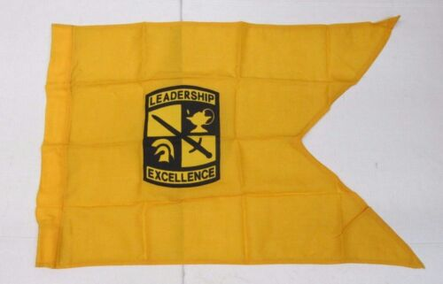 Genuine US Army Military Senior ROTC Reserve Officer Training Corps Guidon Flag Army - 66529