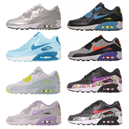 Nike Air Max 90 GS Youth Girls / Womens Running Shoes Trainers NWOB