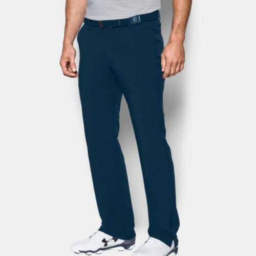 UNDER ARMOUR GOLF MEN'S MATCH PLAY PANTS SIZE: W32 / L32 ACADEMY NAVY NEW 18234