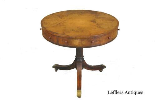 VINTAGE DUNCAN PHYFE STYLE ROUND TABLE BY BAKER FURNITURE