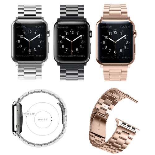 Stainless Steel Strap Bracelet Bands for Apple Watch Series 3 42mm All Models