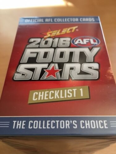 2016 Select Footy Stars FULL SET of Common Cards (220 Cards)Australian Rules (AFL) Cards - 166107