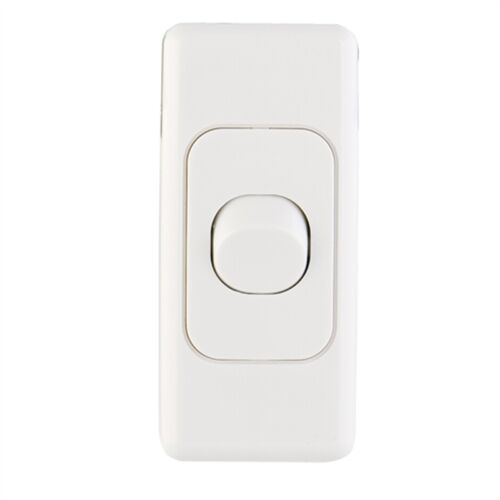 10 x 1 Gang 2 Way Architrave Switch WHITE Electrical Light Switch SAA