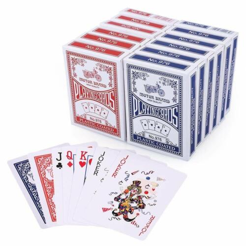 Playing Cards Poker Size Standard Index LotFancy 12 Decks Player's Board Game