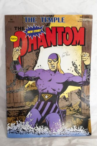 The Phantom Comic Book No. 1240 The Temple Frew Publications
