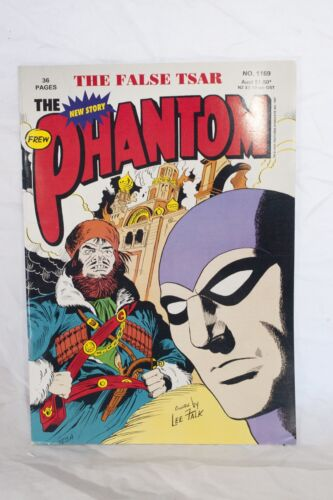 The Phantom Comic Book No. 1169 - The False Tsar Frew Publications