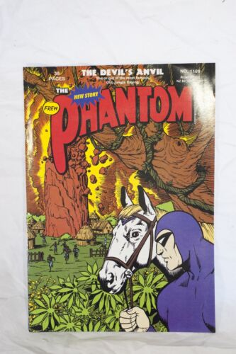 "The Phantom Comic Book No. 1189 - ""The Devil's Anvil"" Frew Publications"