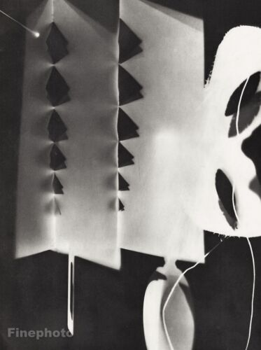 1934 MAN RAY Photo Gravure RAYOGRAPH Abstract Surreal Modernist Art FRAME READY