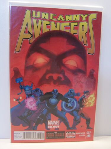Marvel Comics Uncanny Avengers 007 7 Bagged and Boarded