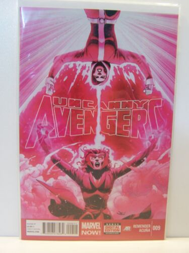 Marvel Comics Uncanny Avengers 009 9 Bagged and Boarded