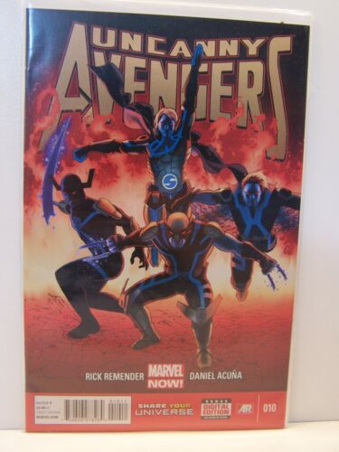 Marvel Comics Uncanny Avengers 010 10 Bagged and Boarded