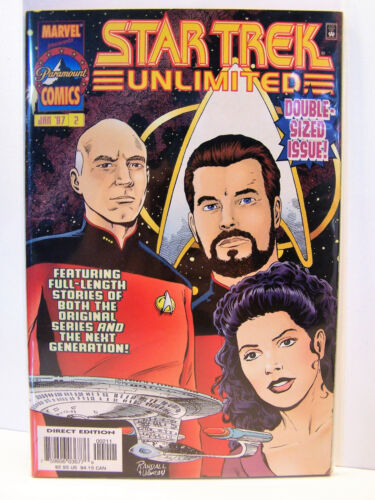 Marvel Comics Star Trek Unlimited 2 Bagged and Boarded 1996
