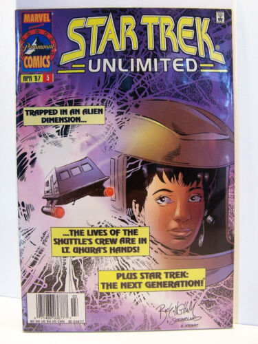 Marvel Comics Star Trek Unlimited 3 Bagged and Boarded 1996
