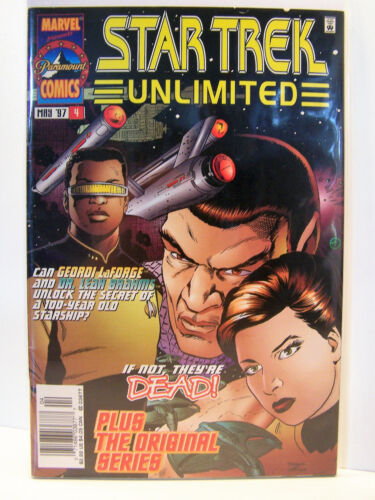 Marvel Comics Star Trek Unlimited 4 Bagged and Boarded 1996