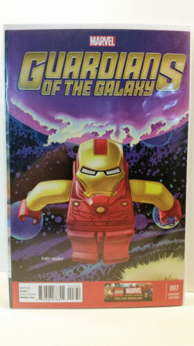 Marvel Comics 2013 Guardians Of The Galaxy 7 LEGO Variant Cover 1/25