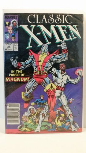 Marvel Comics Classic x-Men 25 Bagged and Boarded FN 1986 to 1990