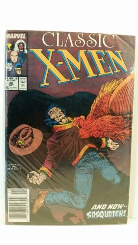 Marvel Comics Classic x-Men 26 Bagged and Boarded FN 1986 to 1990