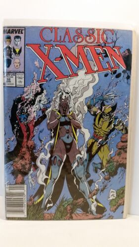 Marvel Comics Classic X-Men 32 Bagged and Boarded FN 1986 to 1990