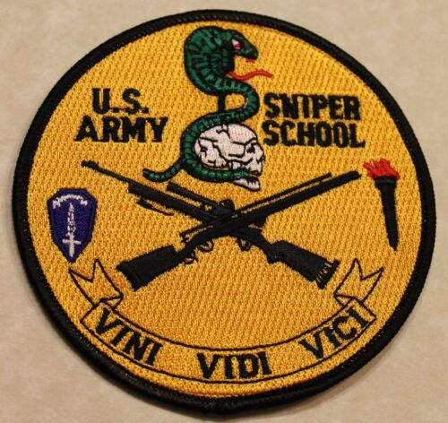 United States Army Sniper School 1989 Patch