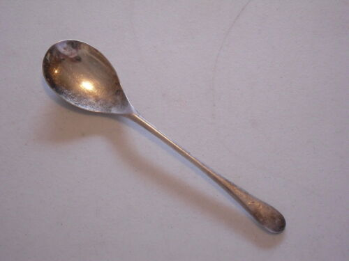 1405...SHEFFIELD Silver Plate Serving / Salad Spoon - England