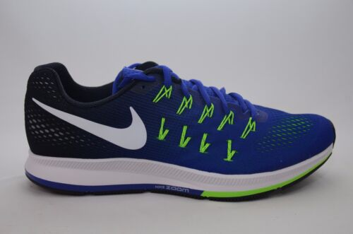 Nike Air Zoom Pegasus 33 Blue Men's Running Size 8-13 New in Box 831352 400