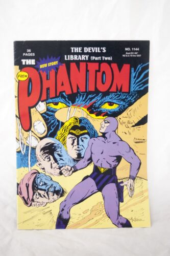 The Phantom Comic Book No. 1144 - The Devil's Library Part 2 Frew Publications