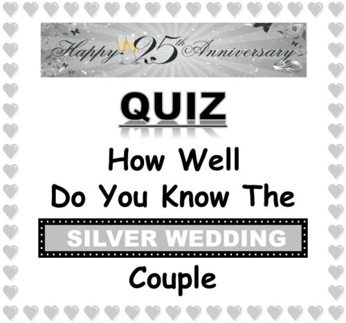 'How Well Do You Know The Retiring Man' 20 Sheets Tiebreakers Fun Party Game