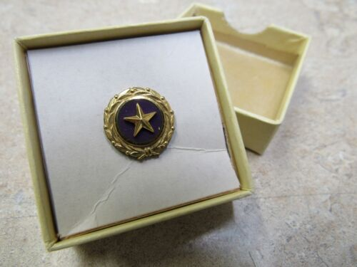 Original Gold Star Mothers US Military Lapel Pin Button 1947 ACT of Congress NOSMedals, Pins & Ribbons - 104024
