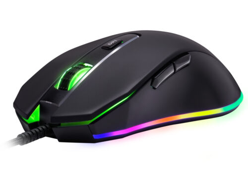 Rosewill Gaming Mouse, 10000 dpi, RGB Backlit, Optical, Wired, NEON M59