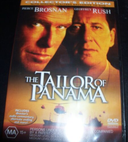 The Tailor Of Panama (Pierce Brosnan Geoffrey Rush) (Aust Region 4) DVD – New
