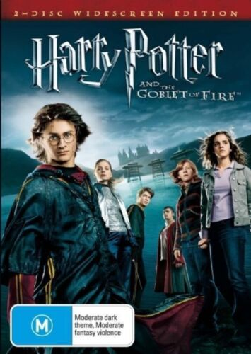 HARRY POTTER And The Goblet Of Fire (2 DVD) DANIEL RADCLIFFE ***