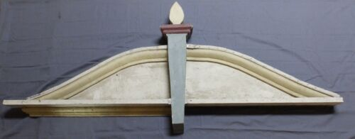 One Large Architectural Salvage Victorian Pediment Gingerbread Old Vtg 503-18P