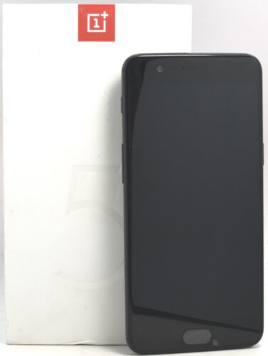 """OPEN BOX - OnePlus 5 64GB Slate Gray A5000 (FACTORY UNLOCKED) 5.5"""" FHD 16MP  <br/> USA Seller"""