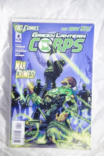 DC Comics Green Lantern Corps (The New 52) Issue#4