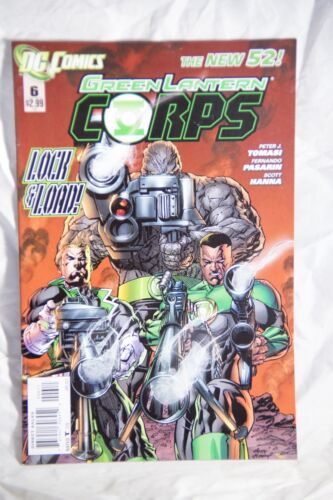DC Comics Green Lantern Corps (The New 52) Issue#6