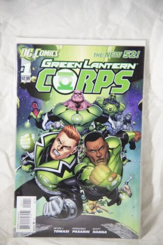 DC Comics Green Lantern Corps (The New 52) Issue#1
