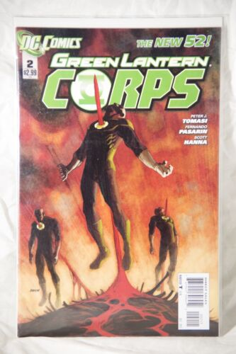 DC Comics Green Lantern Corps (The New 52) Issue#2