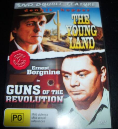 The Young Land / Guns Of The Revolution (Aust All Region) DVD - Like New
