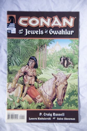 Conan and the Jewels of Gwahlur Comic book Complete Issues 1 to 3 Dark Horse