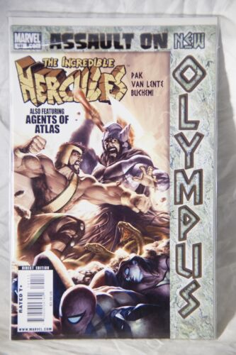 The Incredible Hercules Marvel Comic Book Issue #140 Featuring Agents of Atlas