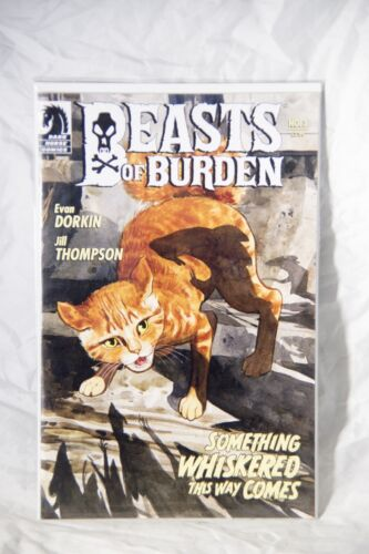 Beasts of Burden Issue #3 - Something Whiskered This Way Comes Dark Horse Comic