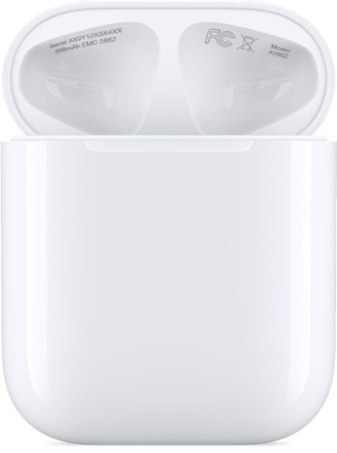 Apple Airpods Charging Case and Lightning Cable with Box