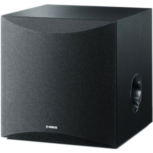 """NSSW050B 8"""" 100W Active Subwoofer Yamaha New Twisted Flare Port 8"""" 100W ACTIVE"""