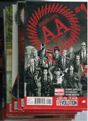 Lot of 11 Avengers Arena Murder World AA Issue 1 to 11  Marvel comics